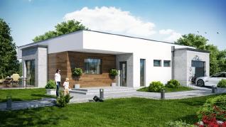 Проект  Дом в парротиях, 171 м2