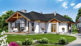 Проект  Дом в салсефиях, 135.7 м2