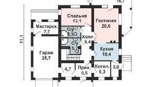 Проект дома AS-2201, 252 м2