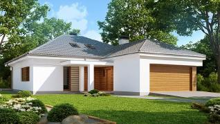 Проект дома Проект Z206, 172.3 м2