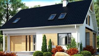 Проект дома Проект Z124, 189.2 м2