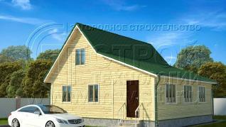 Проект дома Проект дома №119, 81 м2