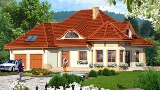 Проект  Дом под юккой 2, 235.2 м2