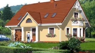 Проект  Дом в винограднике 3, 140.5 м2