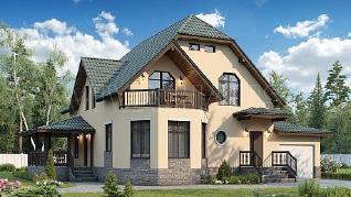 Проект  Дом ГАРМОНИЯ, 250 м2