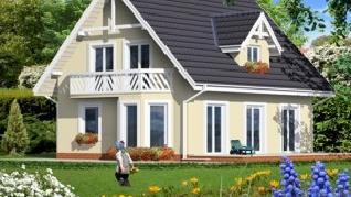 Проект  Дом в завильцах, 121.5 м2