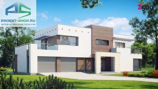 Проект дома Проект zx15gl2, 325.5 м2