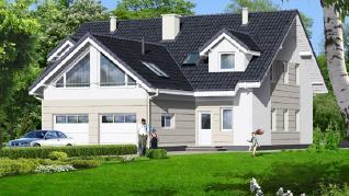 Проект  Дом в клематисах 6, 333.2 м2