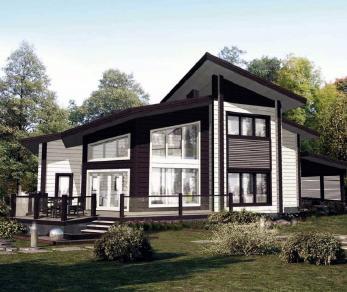 Проект дома КБ-031, 472.52 м2