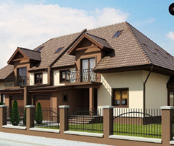 Проект дома Проект Zb1, 223.3 м2
