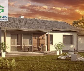 Проект дома Проект z7lgl, 106.3 м2