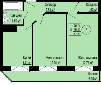 Продажа квартиры Мистолово