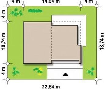 Проект дома Проект Zx35, 113.7 м2