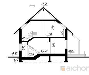 Проект  Дом в олеандрах, 100.9 м2