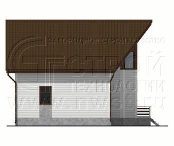 Проект дома Проект дома №123, 67.5 м2