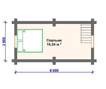 Проект  Канцлер, 44 м2