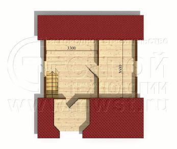 Проект дома Проект дома №13, 38.5 м2