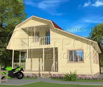 Проект дома Проект дома №6, 36 м2