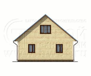 Проект дома Проект дома №32, 84 м2