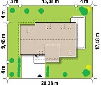 Проект дома Проект Z192, 161.8 м2