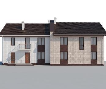 Проект дома AS-2171, 251 м2