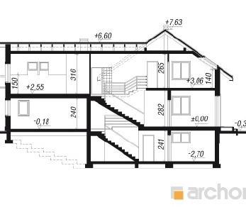Проект  Дом под красным деревом 2 (П), 293.3 м2