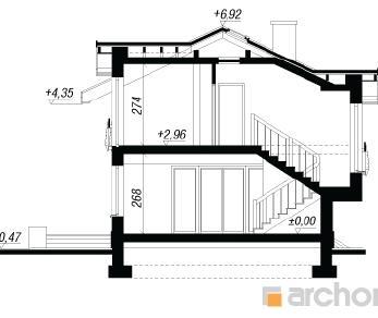 Проект  Дом в буддлеях (В), 118.2 м2
