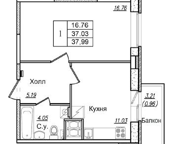 Продажа квартиры Колпино, Загородная ул., д.42