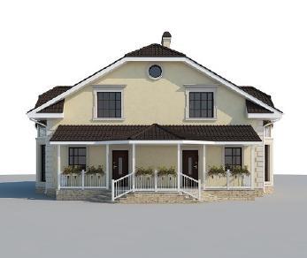 Проект дома AS-2176, 207 м2