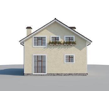Проект дома AS-2102, 125 м2