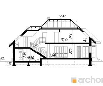 Проект  Дом в гибискусе, 197.1 м2
