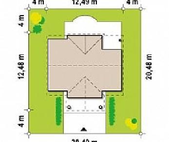 Проект дома Проект Z9, 185.1 м2