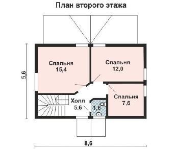 Проект дома AS-2179, 101 м2