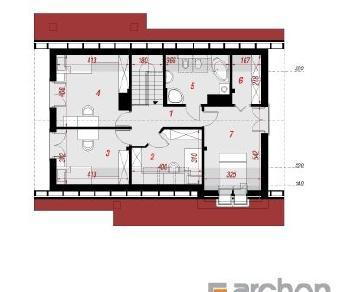 Проект  Дом в вистерии, 149 м2
