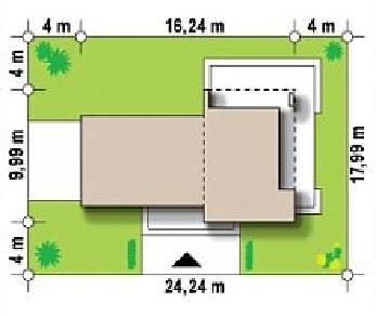 Проект дома Проект Zx41, 140.6 м2