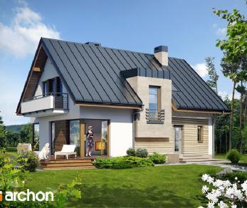 Проект  Дом в амариллисах (В), 122.7 м2