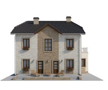Проект дома AS-2137, 213 м2