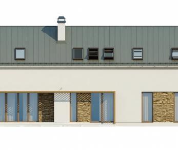 Проект дома Проект Zx58, 207.2 м2