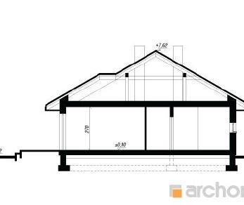 Проект  Дом в кипарисовике, 136.2 м2