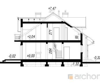Проект  Дом в цикламенах 2, 89.4 м2