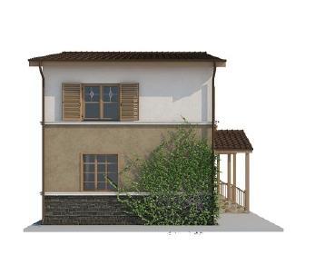 Проект дома AS-2057, 80 м2