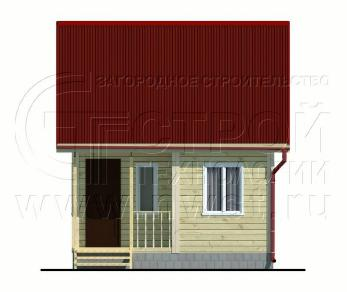 Проект дома Проект дома №47, 20 м2
