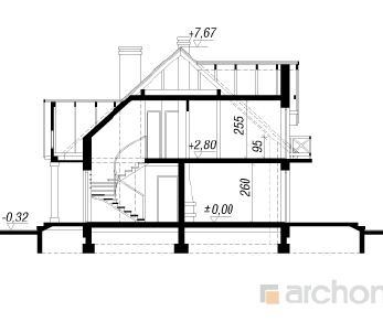 Проект  Дом в магнолиях 2, 173 м2