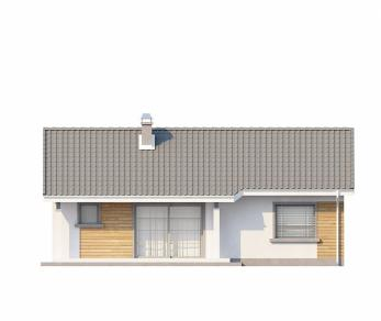 Проект дома Проект Z87, 71.5 м2