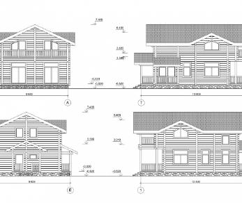 Проект дома КБ-034, 202.45 м2