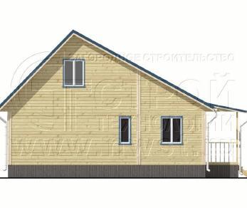 Проект дома Проект дома №72, 57 м2
