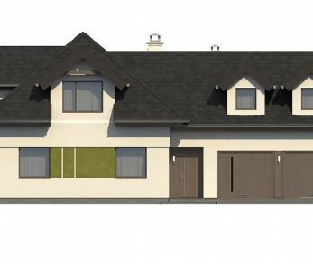 Проект дома Проект Z286, 259.6 м2
