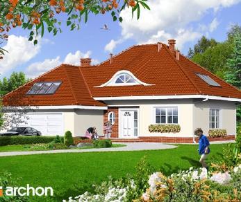 Проект  Дом в арбузах, 198.3 м2