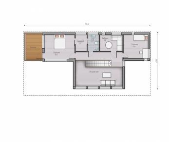 Проект  проект дома серии Kriss 169, 211 м2