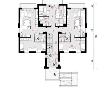 Проект  Дом у бульвара 12, 786.6 м2